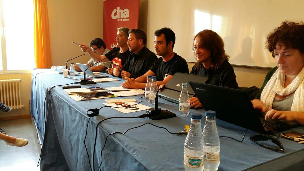 CHA celebra su primer Comité Nazional tras la entrada en el Gobierno de Aragón con balance positivo