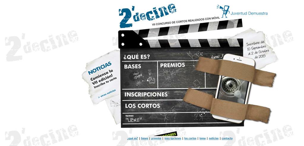 """""""Sin Miedo"""" y """"Fdo: tu mente"""", cortos ganadores del concurso 2′ de cine"""