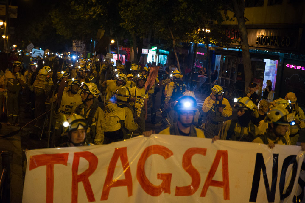 TRAGSA sanciona a un trabajador de las BRIF por hablar con la prensa