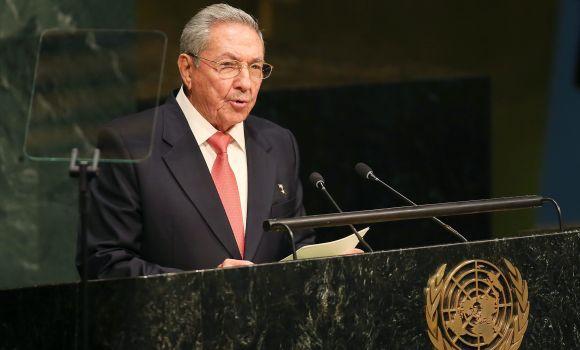 Raúl Castro exige en la ONU el fin del bloqueo a Cuba y el cierre de Guantánamo
