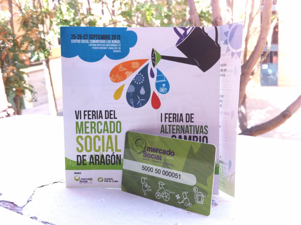 Hazte socia de consumo del Mercado Social en la Feria y llévate tu carnet