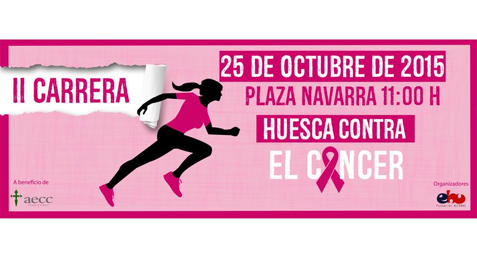"La II Carrera ""Huesca contra el cáncer"" llena las 2.500 inscripciones"