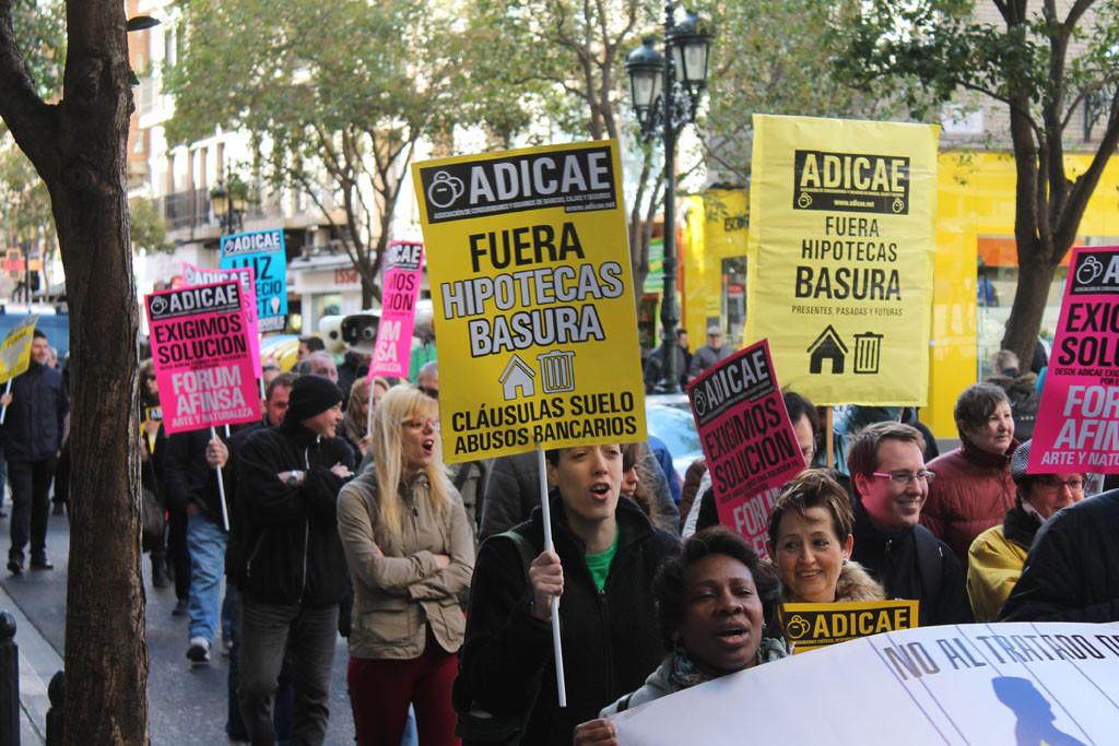 Las ejecuciones hipotecarias aumentaron en Aragón un 4,9% en 2015
