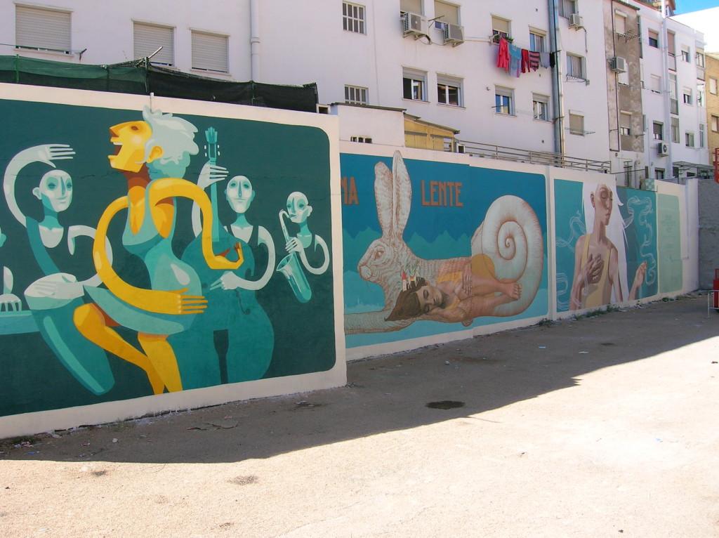 El Festival Asalto contribuye a mejorar el espacio urbano del distrito de San José
