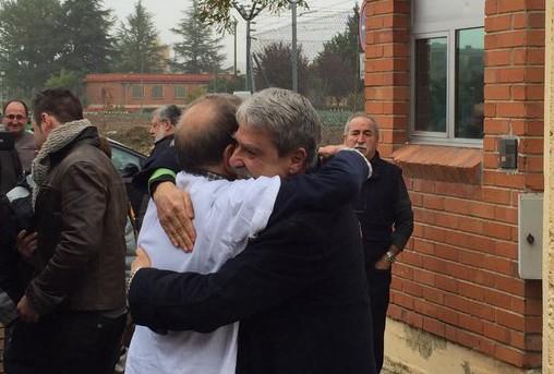 Sale de prisión Jabier Salutregi, el último director de un medio preso en la UE