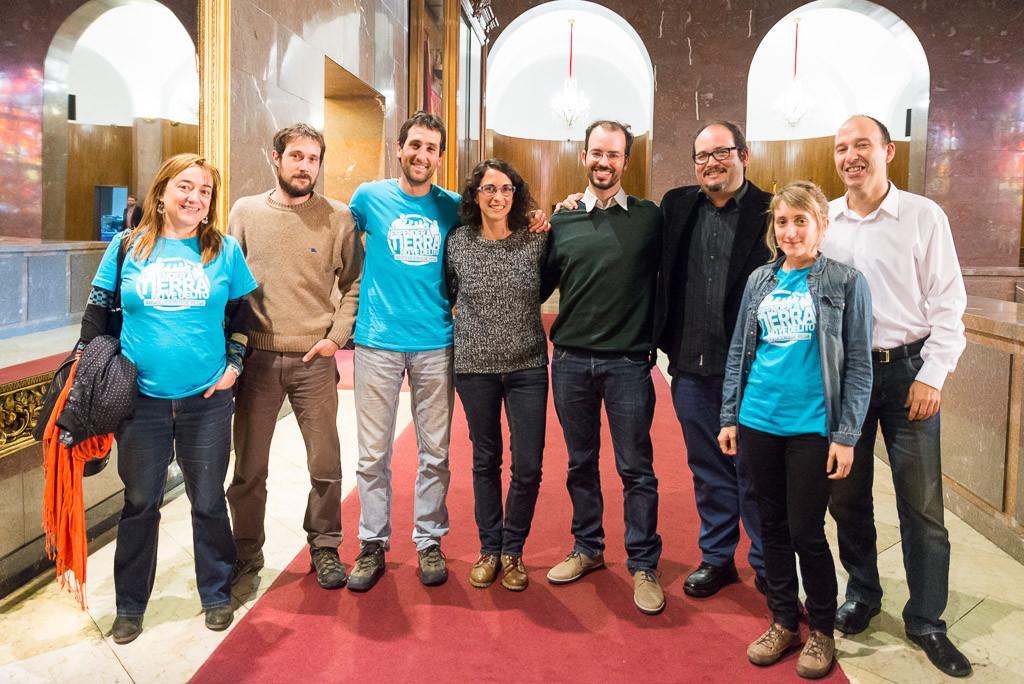 El Pleno del Ayuntamiento de Zaragoza apoya a los «8 de Yesa»