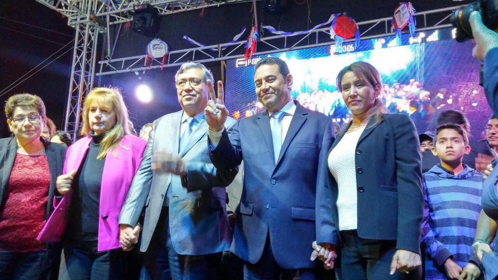 Jimmy Morales, de payaso de la televisión a presidente de Guatemala