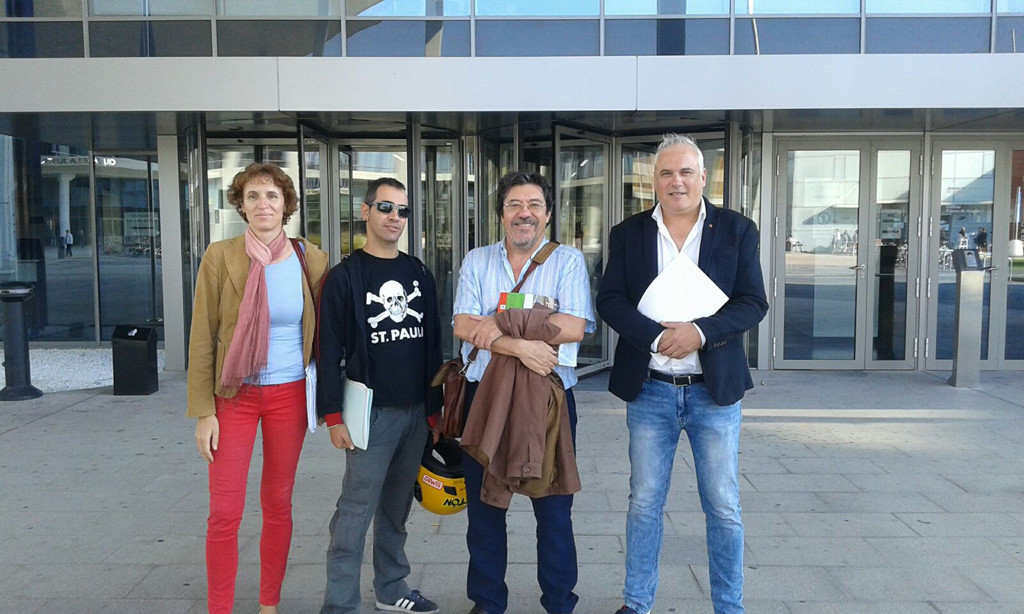 CGT, MHUEL, IU y STEA-i ratifican su postura contra la concertación del Colegio Internacional Ánfora de Cuarte
