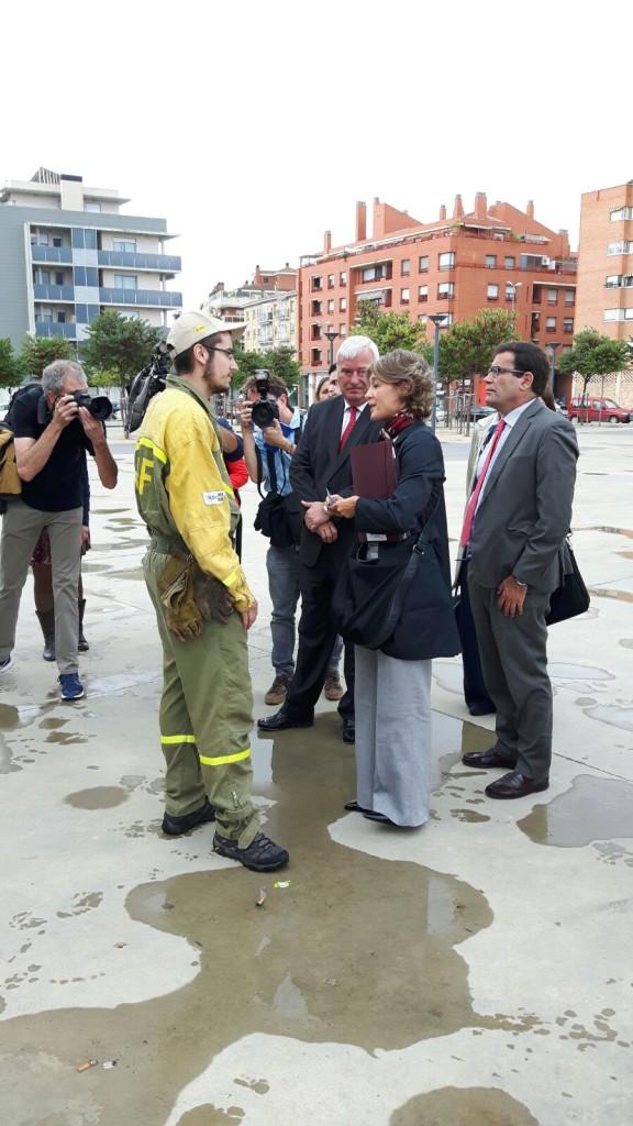 BRIF Daroca planta cara a la ministra Tejerina