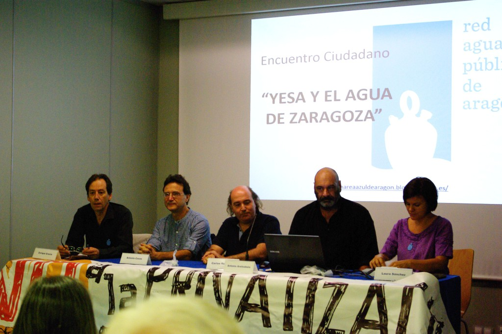 El PP de Zaragoza trata de dar una patada hacia adelante a Yesa