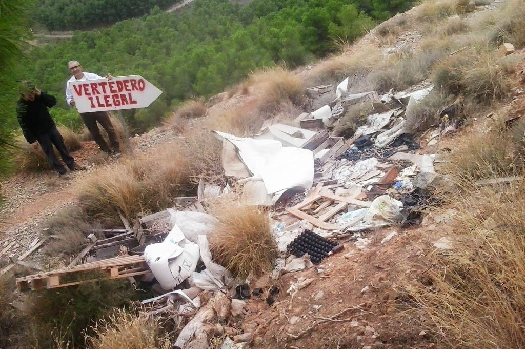 IU Fraga satisfecha por el informe del Seprona que constata la erradicación de los vertederos ilegales denunciados