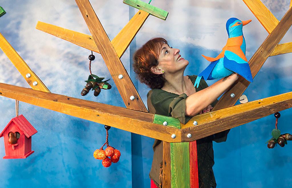 """""""Nidos"""", un espectáculo musical para bebés para cantar, soñar y tal vez volar"""