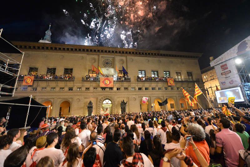 Los Pilares transforman Zaragoza en la mayor fiesta de arte en la calle del sur de Europa