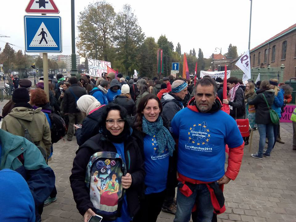 Podemos Aragón transmite su apoyo «a la gente que hoy ha sufrido mientras defendía nuestros derechos»