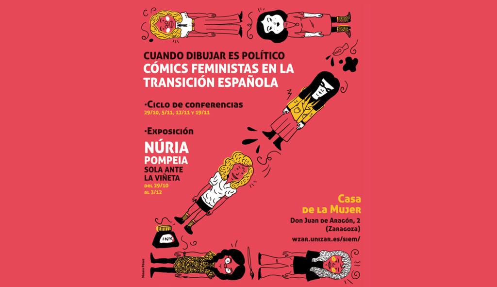 Cuando dibujar es político: cómics feministas en la transición