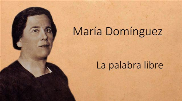 """La Muestra de Cine realizado por Mujeres de Zaragoza estrena el documental """"María Domínguez. La palabra libre"""""""