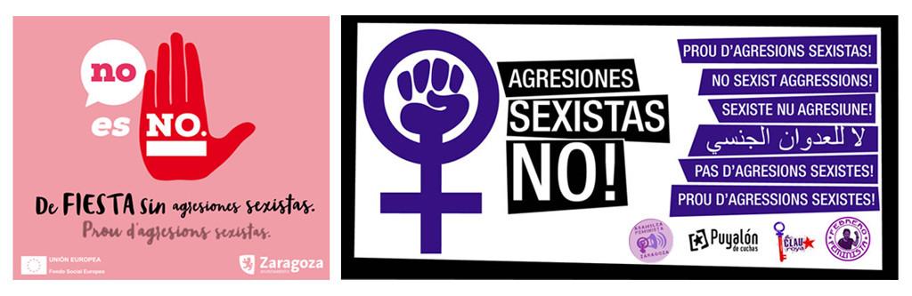 Puyalón felicita a todas las implicadas en la campaña contra las agresiones machistas