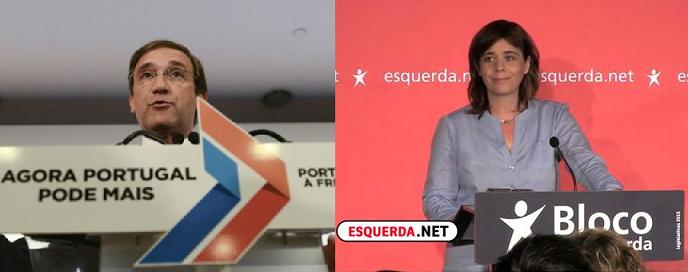 """La derecha """"de la austeridad, los recortes, y obediencia a la Troika"""" pierde la mayoría absoluta en Portugal"""