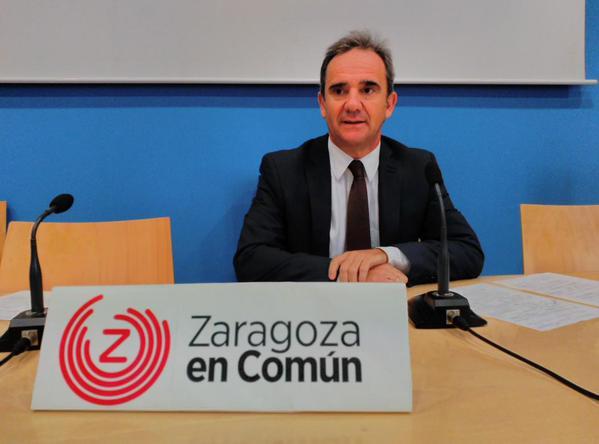 """Zaragoza en Común """"incrédula"""" ante el bloqueo de PP y PSOE a la transparencia de las cuentas de los grupos"""