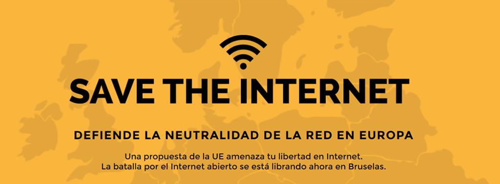 ¿Por qué es importante que defiendas la neutralidad de la red en Europa?
