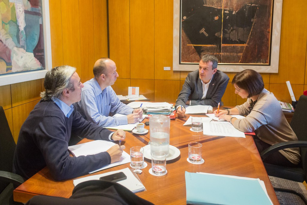 Los portavoces municipales de Economía en Zaragoza constituyen el grupo de trabajo hacia la Ley de Capitalidad