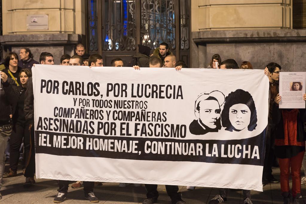 Zaragoza recuerda a las víctimas del fascismo