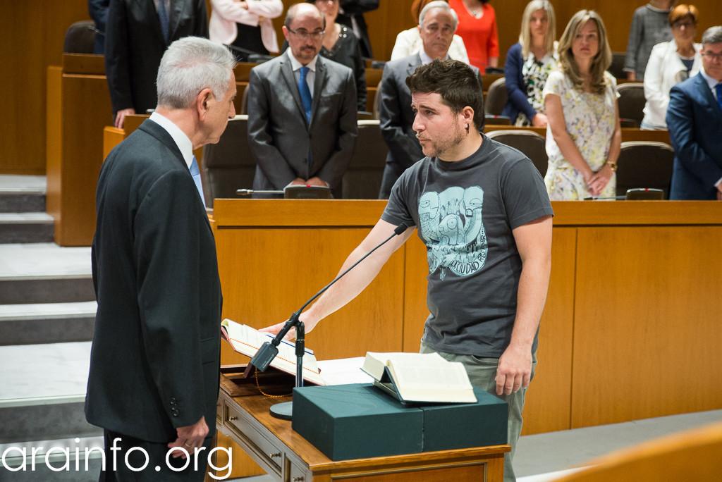 Podemos, CHA e IU proponen a las Cortes de Aragón apoyar la Alianza por el Clima