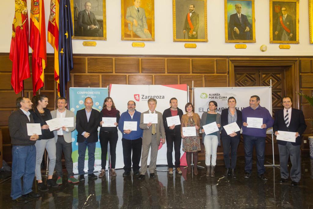 El Pleno del Ayuntamiento de Zaragoza suscribe una Declaración conjunta en materia de Cambio Climático