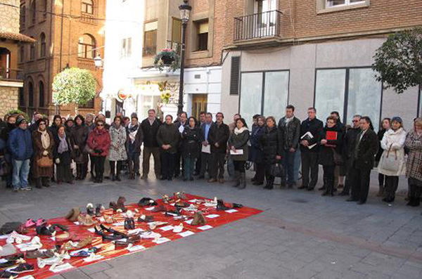 Teruel muestra su rechazo a las violencias machistas