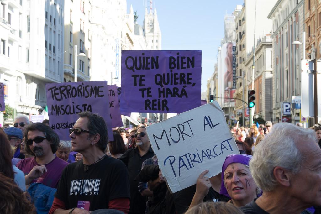 El Movimiento Feminista desborda Madrid en un grito mayoritario contra el terrorismo machista