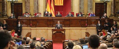 El Parlament rechaza por segunda vez la investidura de Artur Mas
