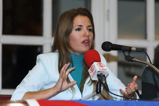 La periodista cubana Cristina Escobar hablará en Zaragoza sobre las relaciones entre Cuba y Estados Unidos