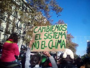 Marcha en Barcelona. Foto: Ecologistes en Acció