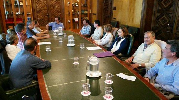 Cubero se reúne con los inspectores de Limpieza Pública para mejorar el servicio