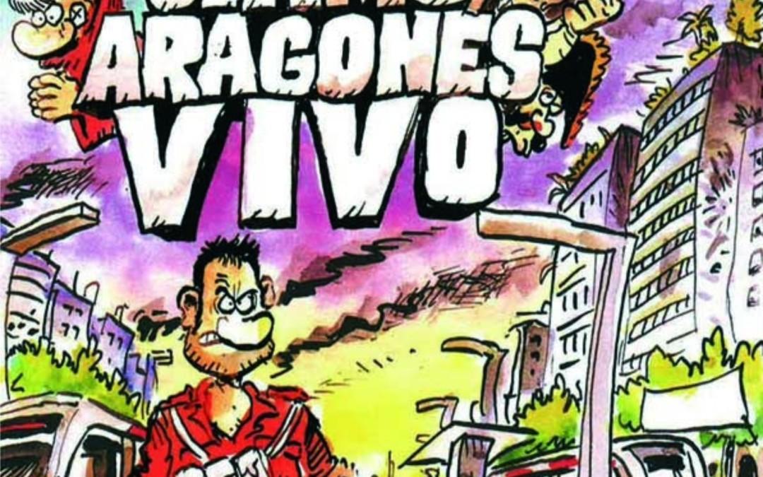 """Presentación del cómic """"El último aragonés vivo, la amenaza robótica"""""""