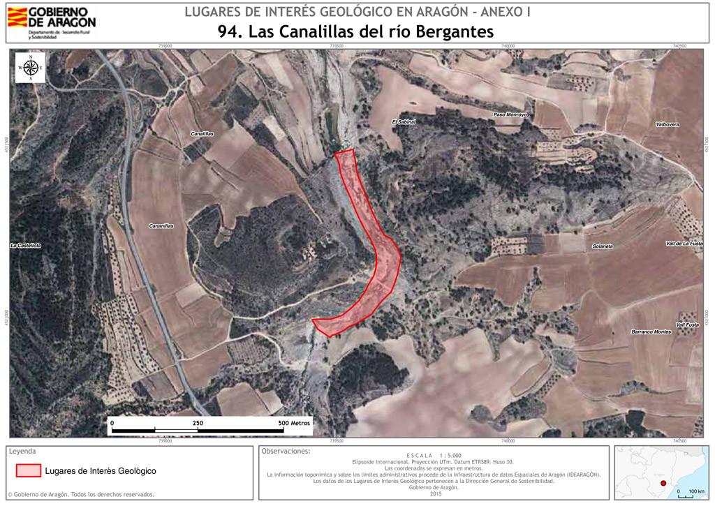 Boletín Oficial de Aragón publicado con número 213 en fecha 04/11/2015.