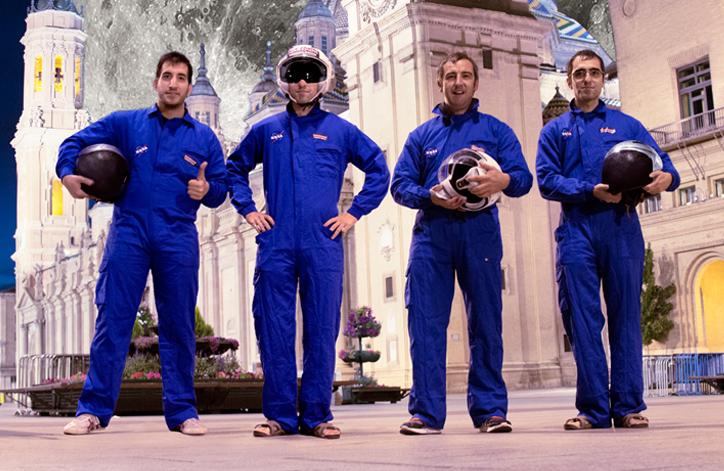 Cuatro jóvenes aragoneses ganan un primer premio internacional de la agencia espacial NASA