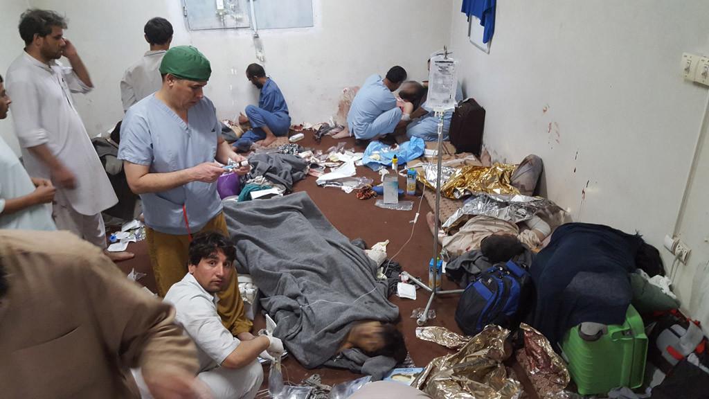 """MSF afirma que el ataque de EEUU a su hospital en Kunduz fue con """"el propósito de matar y destruir"""""""