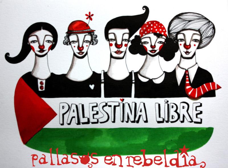 Artistas de todo el mundo firman un manifiesto por una Palestina libre y feliz