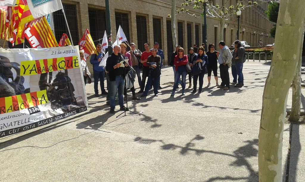 Presentación de la Carta Social para Aragón