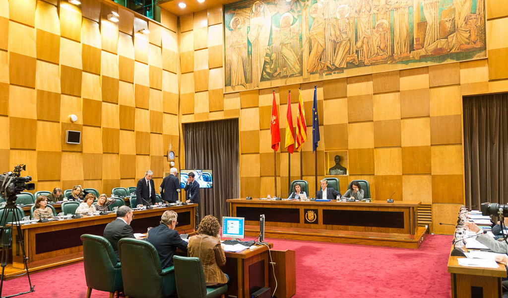 El tripartito PP, PSOE y C's en el Ayuntamiento de Zaragoza se vuelve a unir para votar a favor del Outlet Torre Village