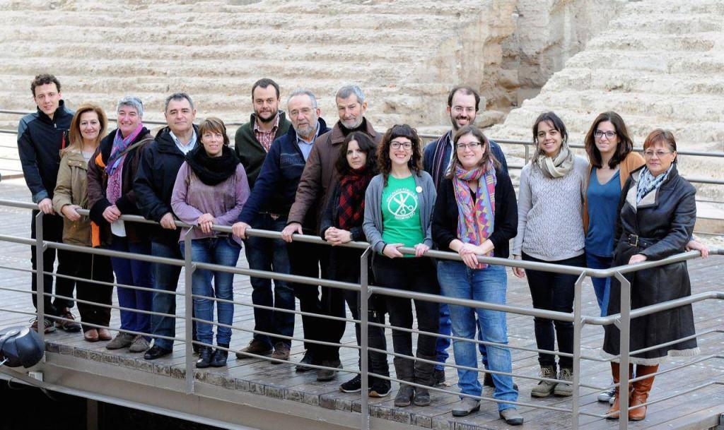 Podemos presenta a sus candidatos para el Congreso y el Senado en Aragón