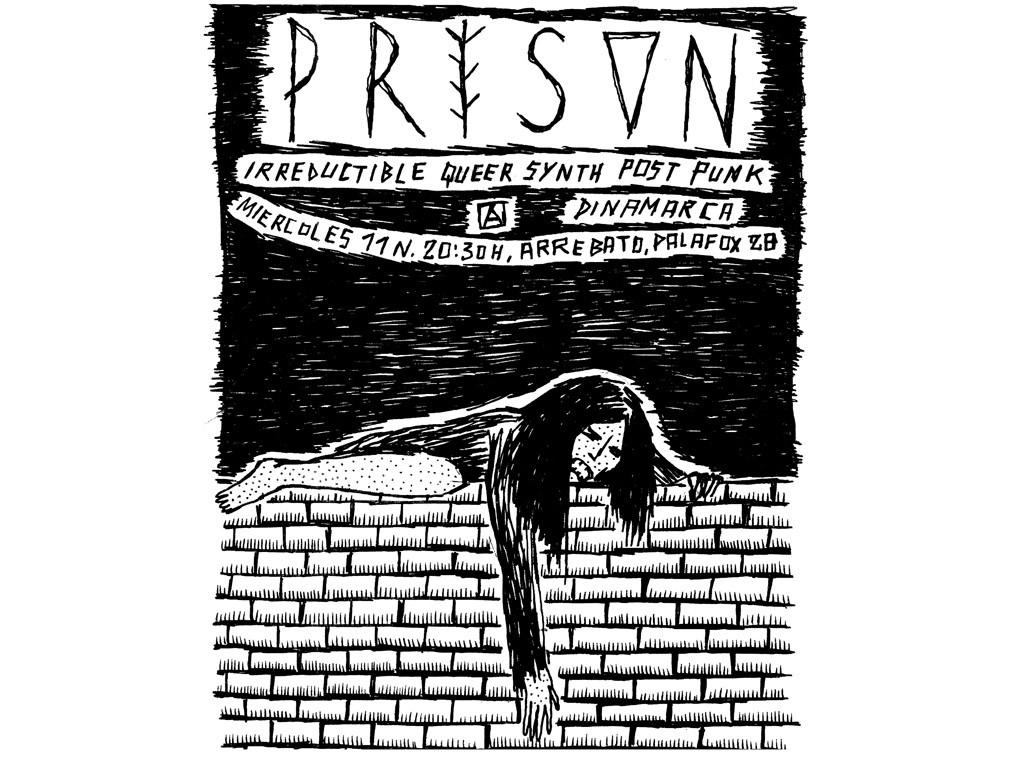 "El post punk ""queer feminist"" de Prison este miércoles en Arrebato"