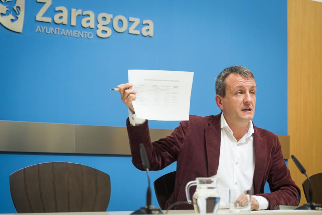 El Ayuntamiento de Zaragoza sin dinero para cubrir servicios básicos
