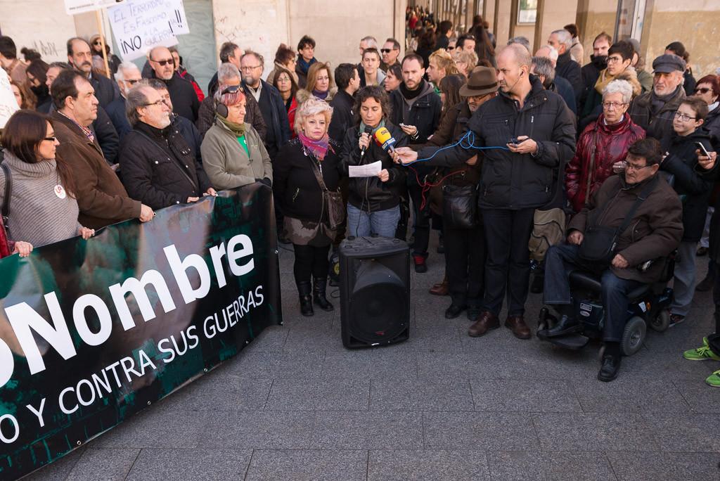 Miles de voces contra «el terrorismo, el odio, la islamofobia y sus guerras»