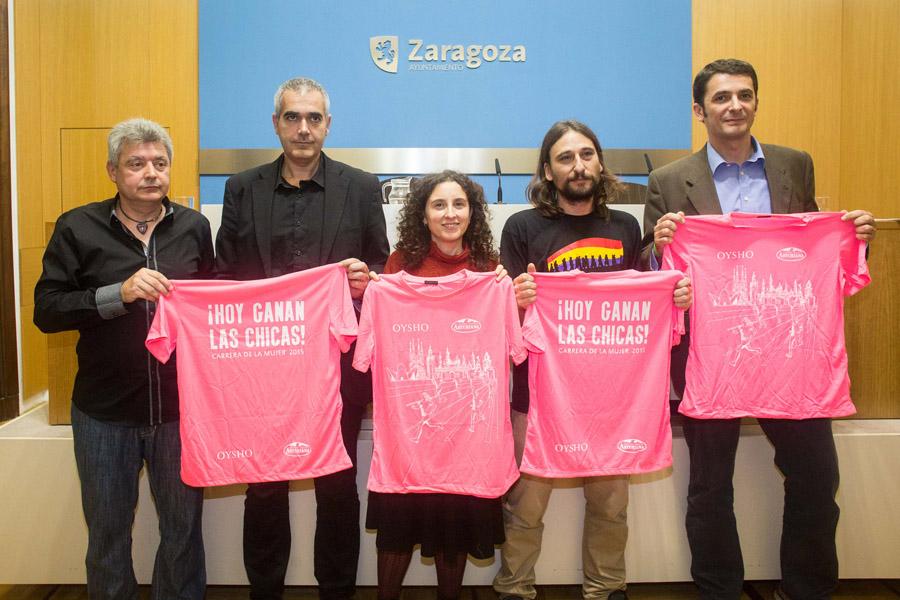 La Carrera de la Mujer regresa a Zaragoza con un nuevo recorrido y 8.000 participantes