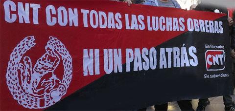 CNT Fraga y CNT Ponent-Lleida organizan una Conferencia de Militantes Intercomarcal
