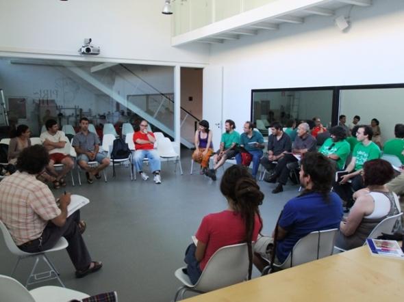 Aineto acoge el encuentro anual de Ecologistas en Acción del Alto Aragón