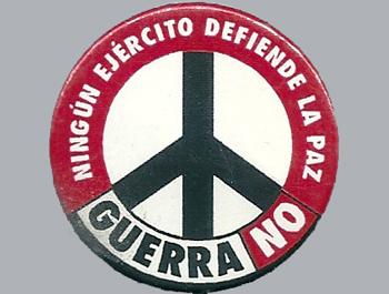Mambrú: «Rechacemos de nuevo la guerra»