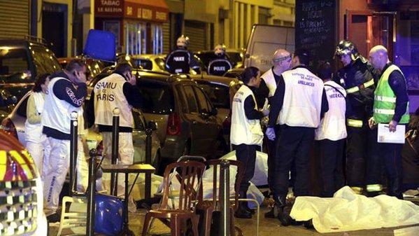 Noche trágica en París: ataques simultáneos dejan al menos 125 personas muertas y 200 heridas